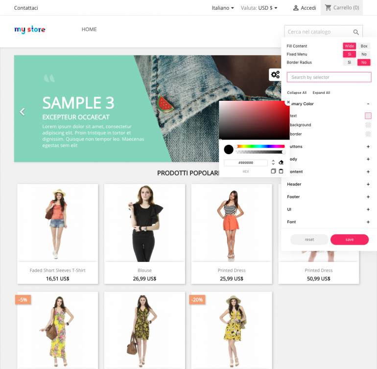 Module PrestaShop Advanced Theme Configurator Pro