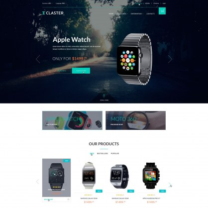 Watches PrestaShop Template