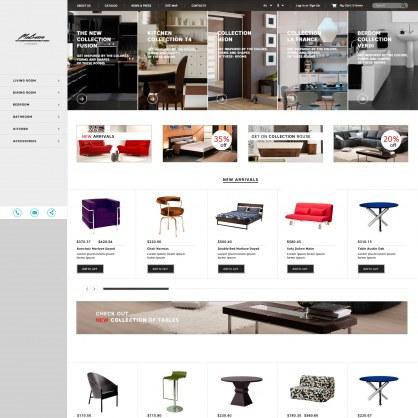 PrestaShop Responsive Interior Theme