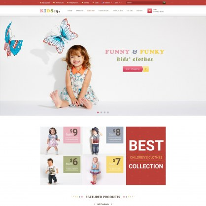 Kids Store PrestaShop Template