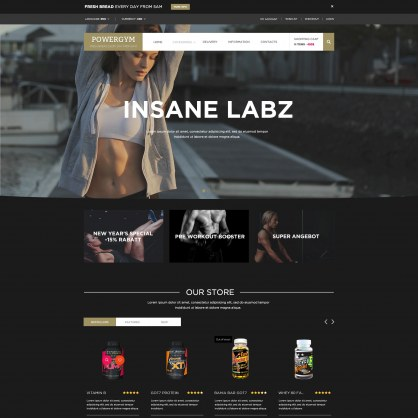 Gym PrestaShop Theme