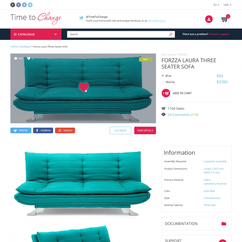 Home Decor PrestaShop Theme
