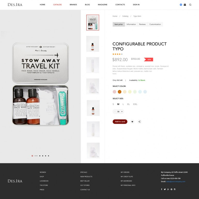 Barber PrestaShop Theme